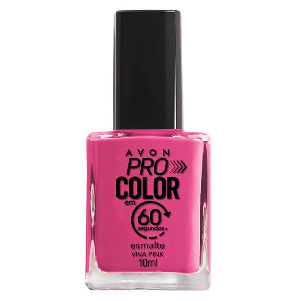 Esmalte Avon Pro Color 10ml - Viva Pink
