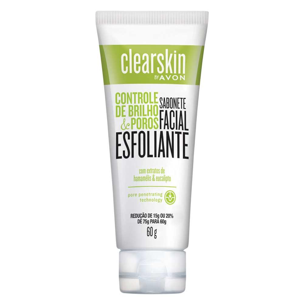 Sabonete Facial Esfoliante Clearskin Controle de Brilho e de Poros - 60g
