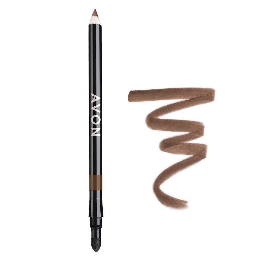 Lápis para os Olhos Avon 2 em 1 1,08g - Bronze Luminoso