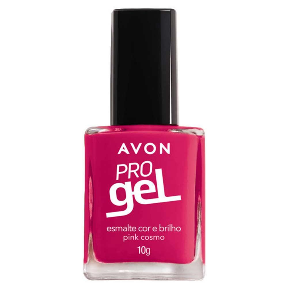 Esmalte Avon Cor e Brilho Pro Gel 10g - Pink Cosmo