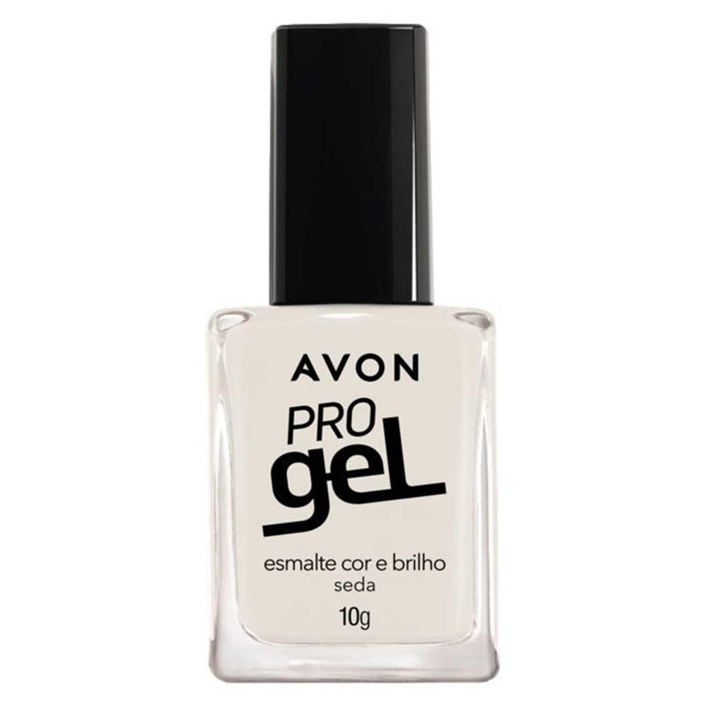 Esmalte Avon Cor e Brilho Pro Gel 10g - Seda
