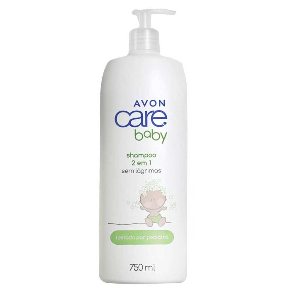 Shampoo 2 em 1 Avon Care Baby - 750ml