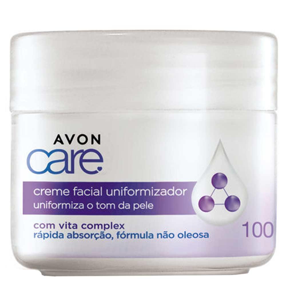 Creme Facial Avon Care Uniformizador - 100g