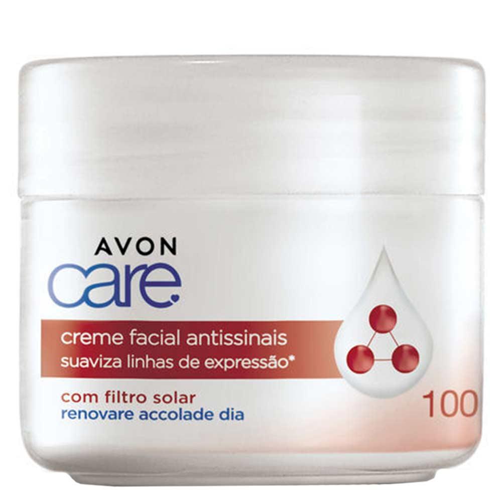 Creme Facial Avon Care Renovare Accolade Dia com Filtro Solar - 100g