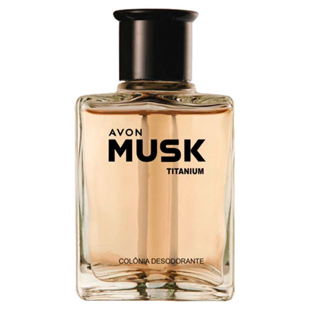 Colônia Desodorante Body Splash Musk Titanium - 90ml