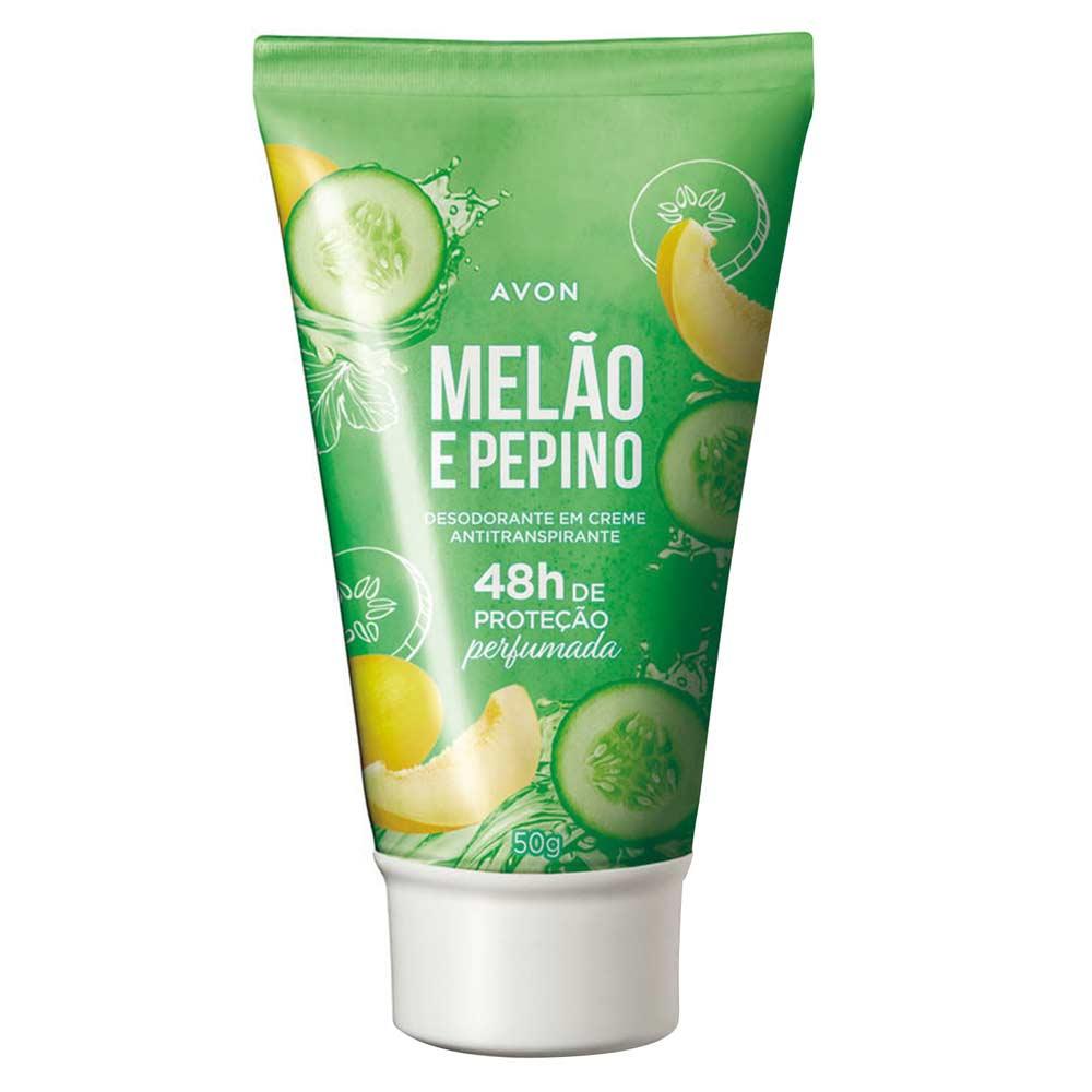 Desododorante em Creme Melão e Pepino - 50 g