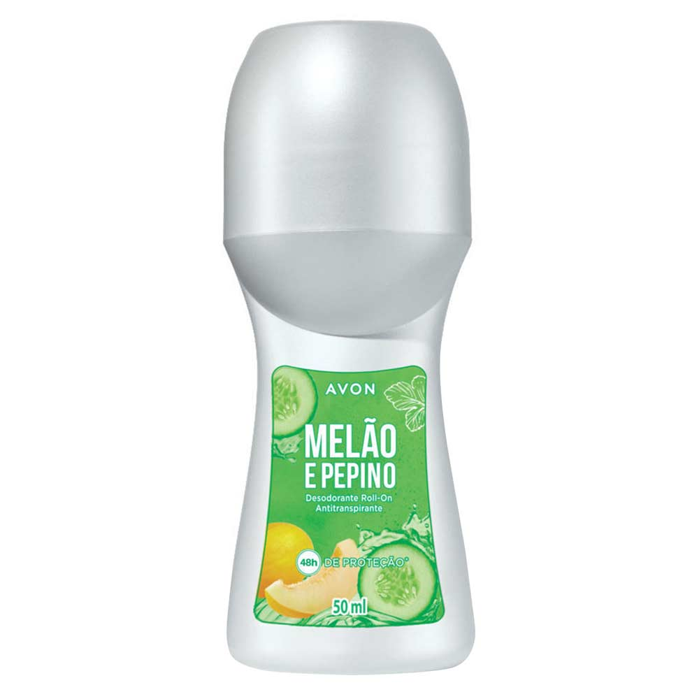 Desodorante Roll-On Melão e Pepino - 50 ml