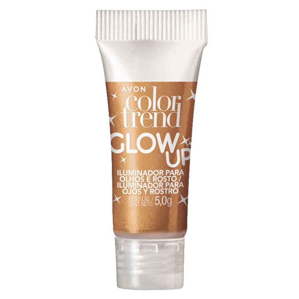 Iluminador para Olhos e Rosto Color Trend Glow Up 5g - Dourado Tropical