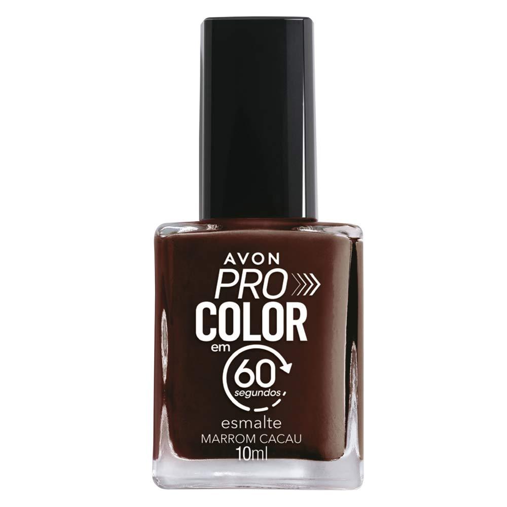 Esmalte Avon Pro Color 10ml - Marrom Cacau