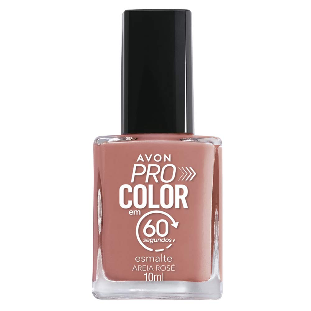 Esmalte Avon Pro Color 10ml - Areia Rosê