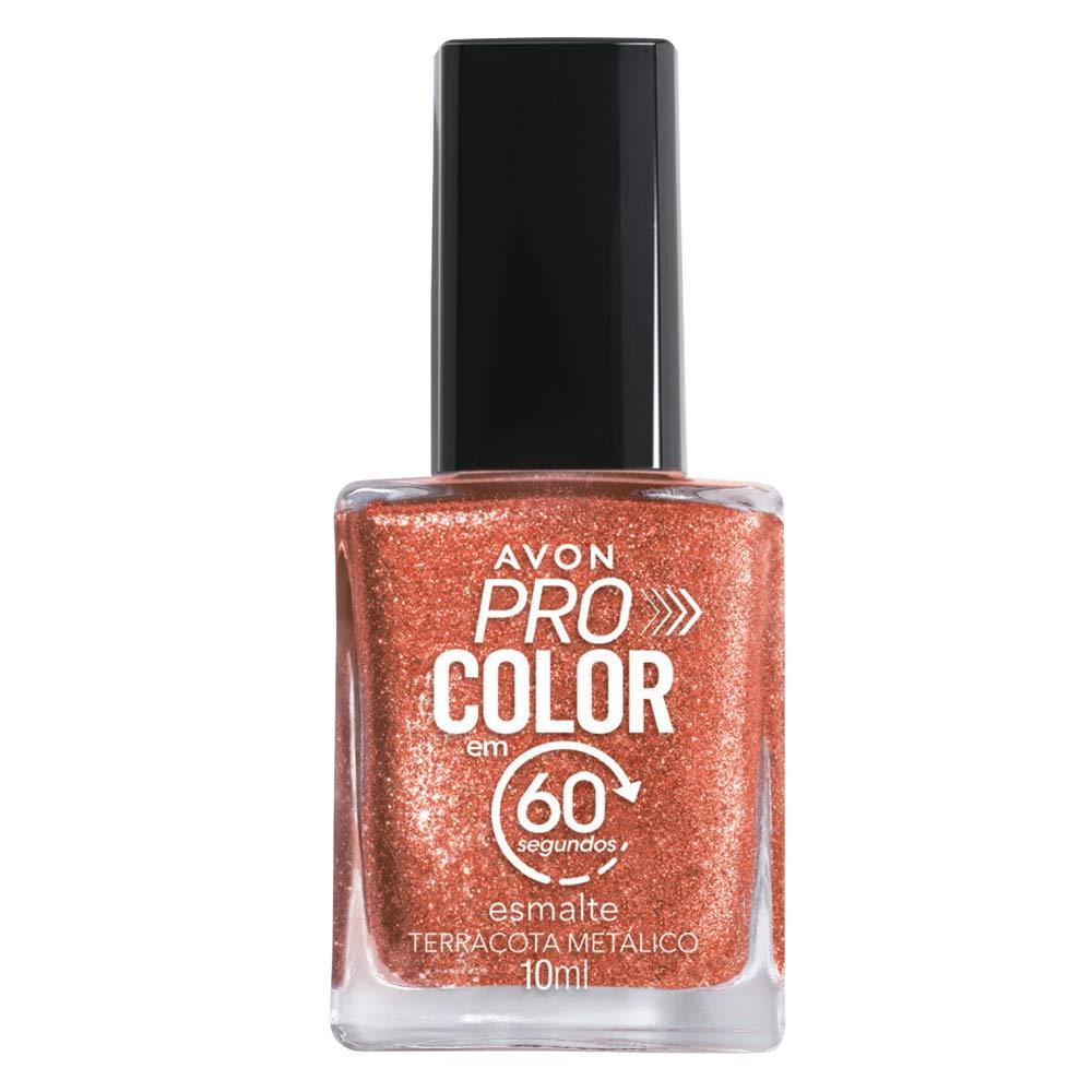 Esmalte Avon Pro Color 10ml - Terracota Metálico