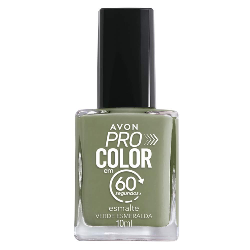 Esmalte Avon Pro Color 10ml - Verde Esmeralda