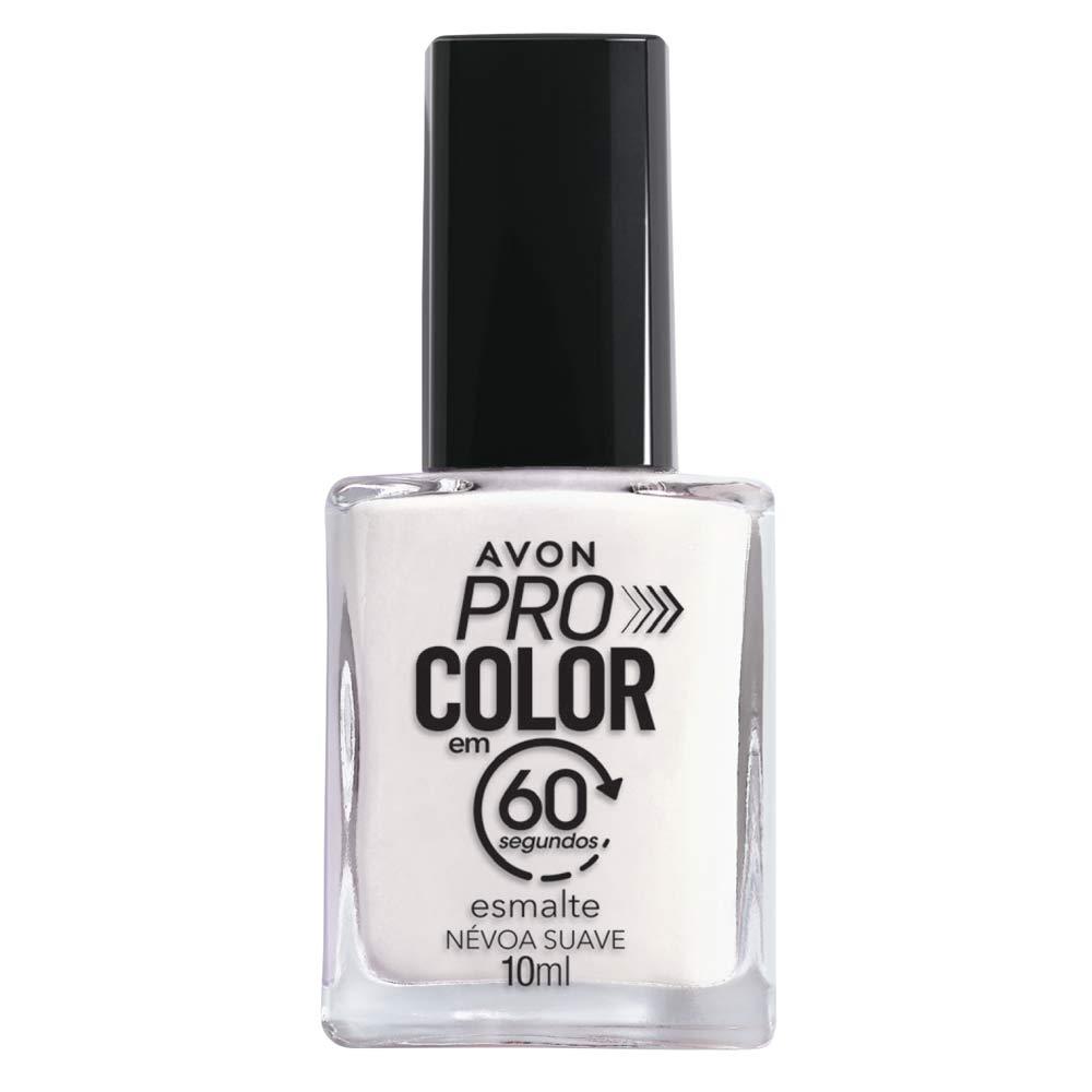 Esmalte Avon Pro Color 10ml - Névoa Suave