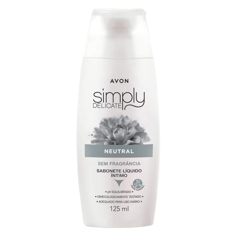 Sabonete Liquido Íntimo Simply Delicate Neutral - 125ml