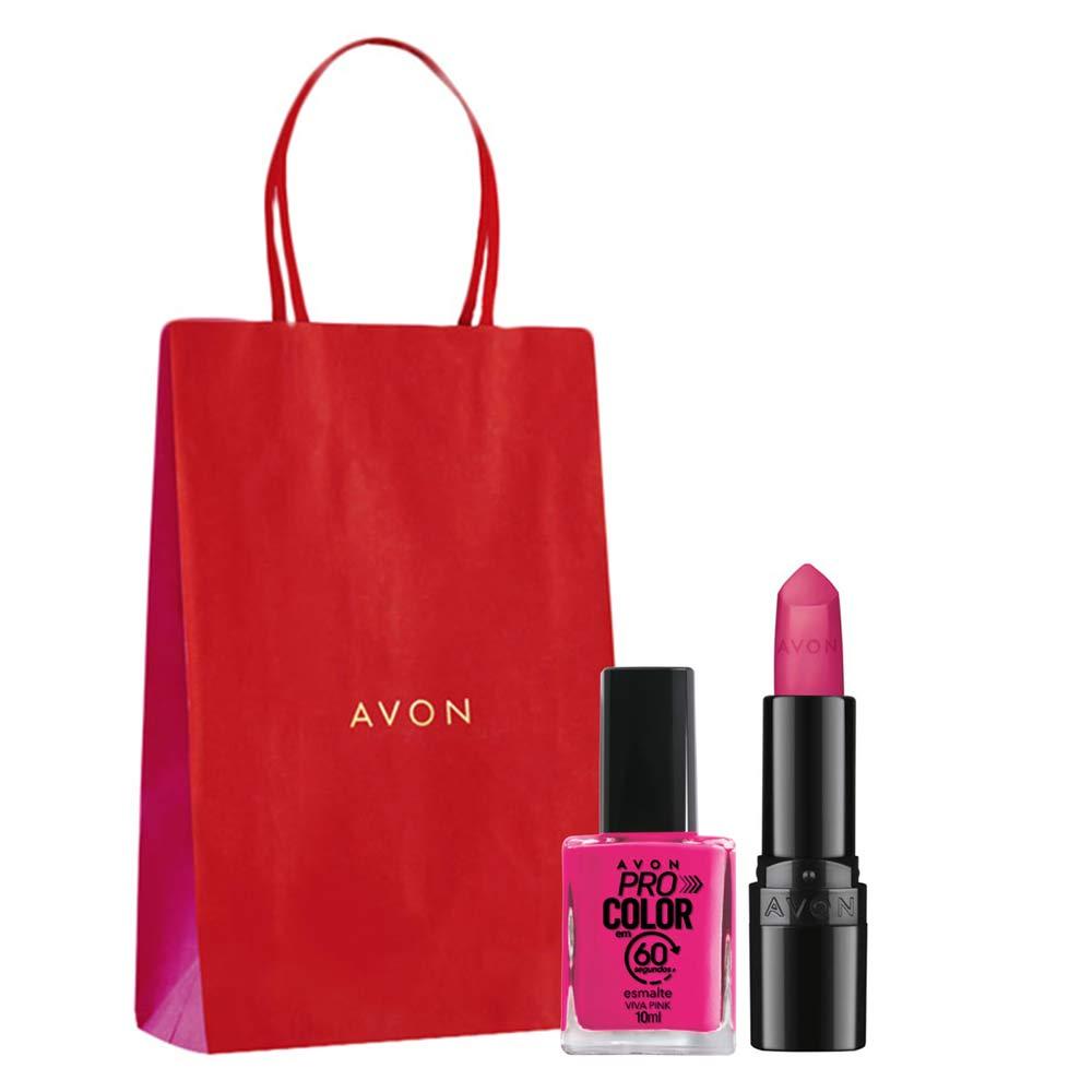 Presente Outubro Rosa - Pink