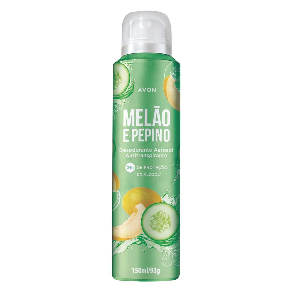 Desodorante Aerossol Avon Melão e Pepino - 150ml