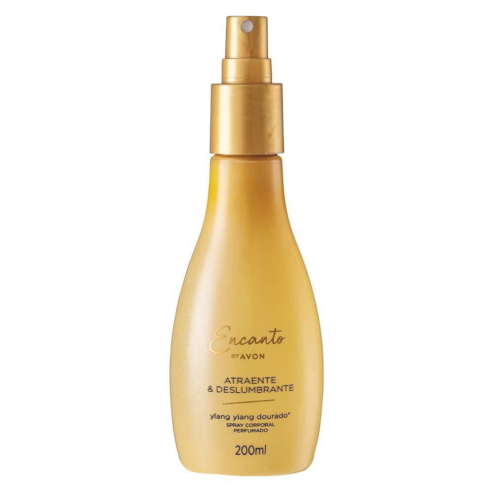 Spray Corporal Perfumado Atraente e Deslumbrante - 200 ml