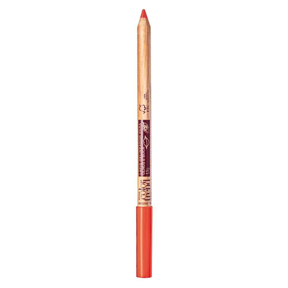 Lápis Delineador para Olhos e Boca  1,1g - Laranjinha