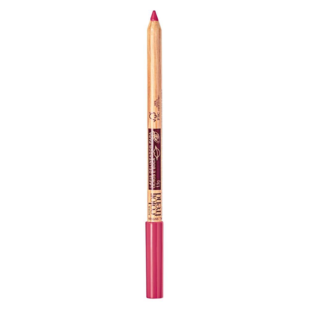 Lápis Delineador para Olhos e Boca  1,1g - Rosa Pink
